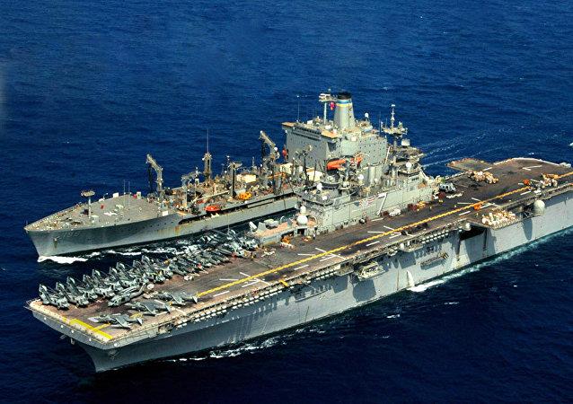 Buque de EEUU Iwo Jima
