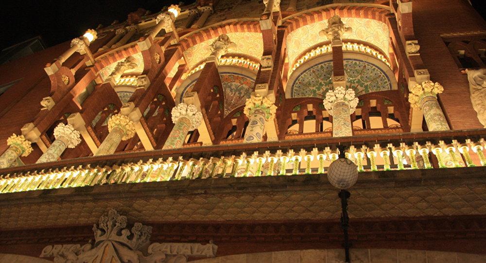 Palacio de la Música en Barcelona