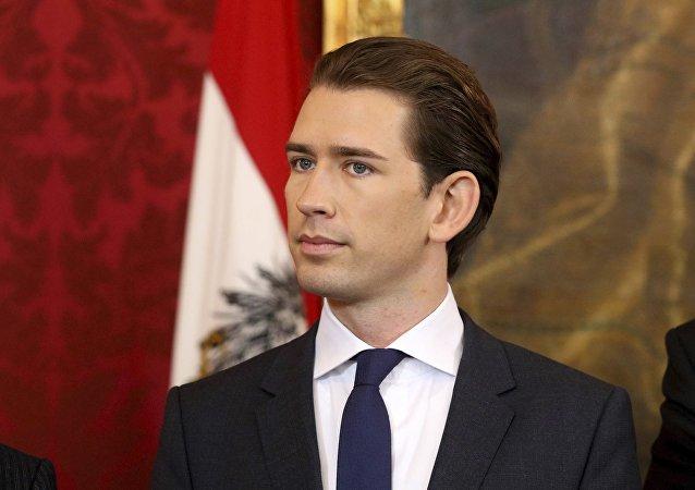Sebastian Kurz, excanciller de Austria (archivo)