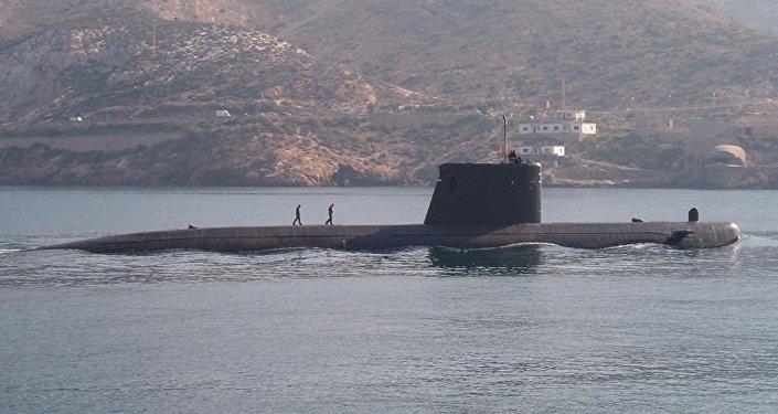 El submarino español Mistral