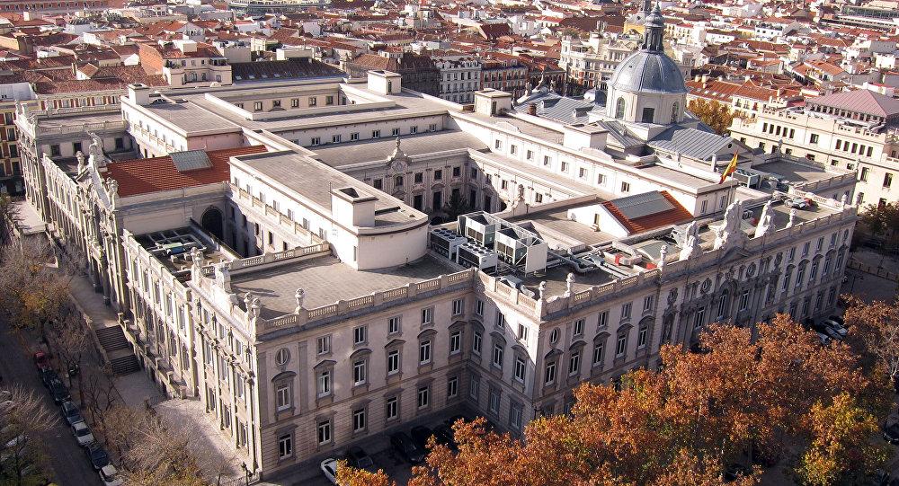 Tribunal Supremo de España en Madrid (vista aérea)