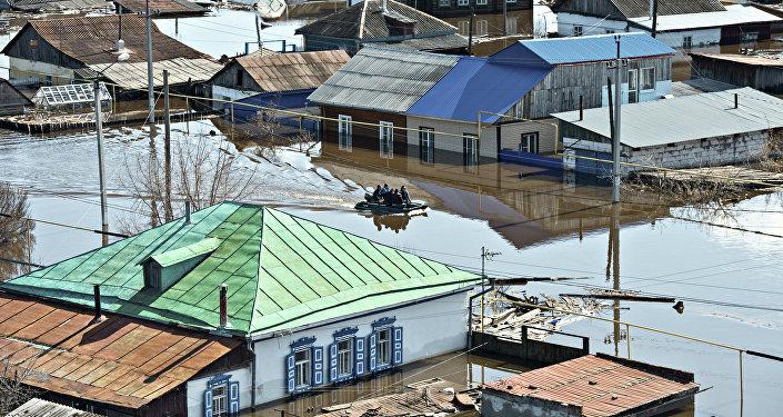 Alexei Majgavko, Rusia. La inundación de primavera