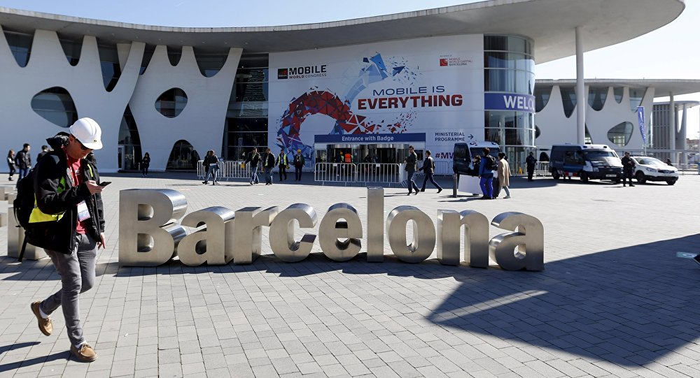 Mobile World Congress en Barcelona, España (archivo)