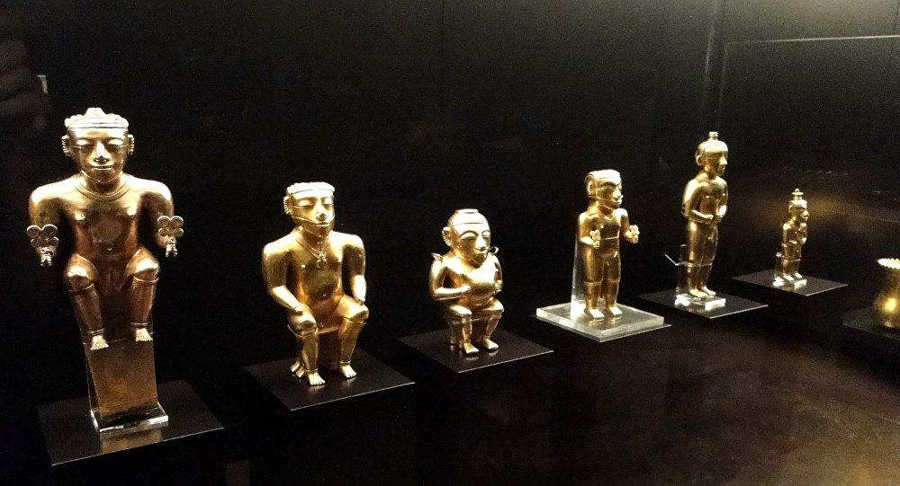 Urnas cinerarias Quimbaya (Museo de América de Madrid)