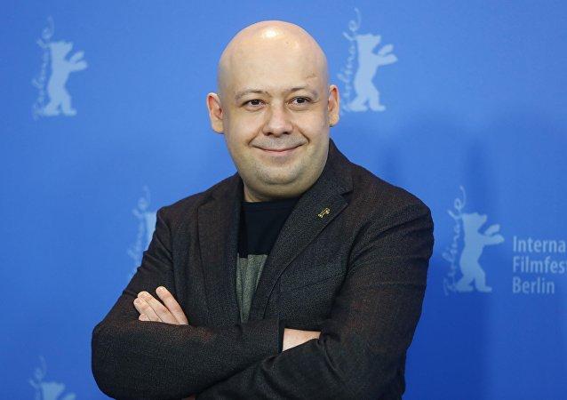 El director de cine ruso Alexéi Guerman (hijo)