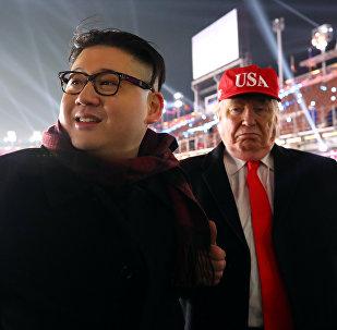 'Kim Jong-un' y 'Donald Trump':