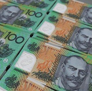 Los billetes del dólar australiano