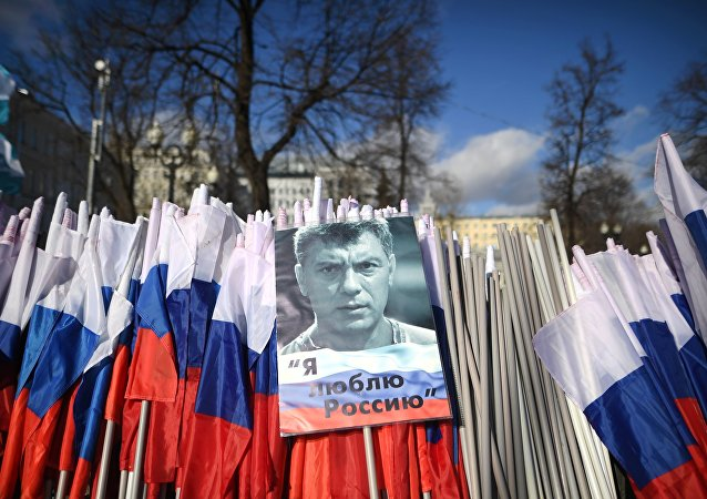 Marcha en memoria del opositor Borís Nemtsov (Archivo)