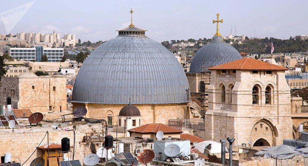 La Iglesia de Santo Sepulcro de Jerusalén