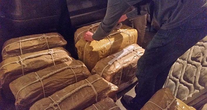 Cocaína encontrada en el edificio de la embajada rusa en Buenos Aires, Argentina
