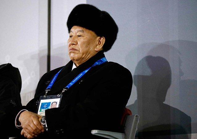 Kim Yong-chol, vicepresidente del Comité Central del Partido de los Trabajadores y jefe del Departamento del Frente Unido