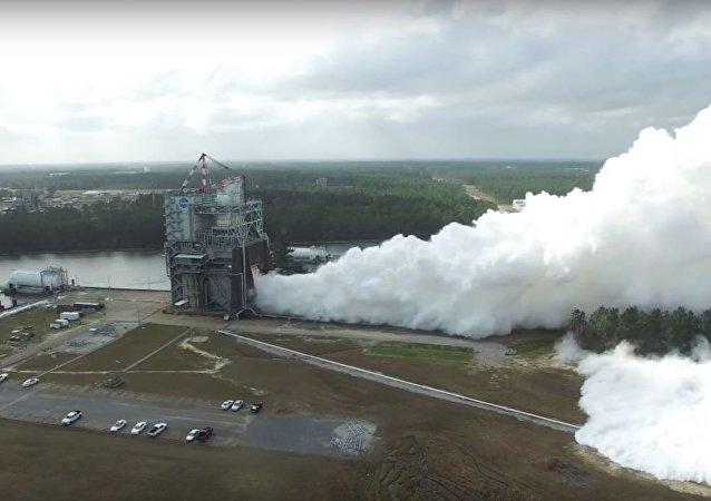 La NASA somete a la prueba más intensa hasta la fecha a su 'renacido' propulsor