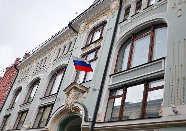 Edificio de la Comisión Electoral Central rusa (CEC)