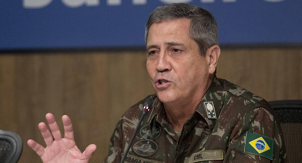 Walter Souza Braga Netto, interventor para la Seguridad Pública del estado de Río de Janeiro