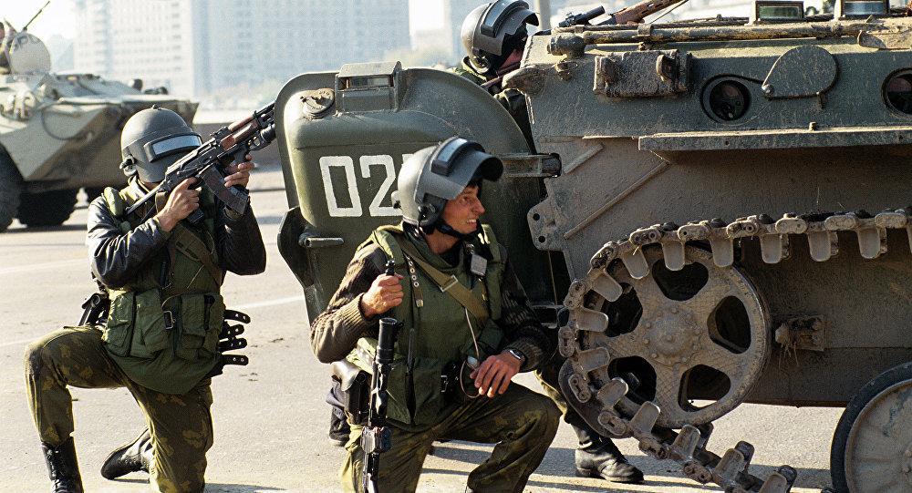 Una operación antiterrorista del grupo ruso Alfa (imagen referencial)