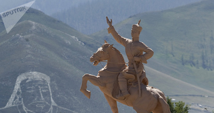 Un monumento en Ulán Bator, capital de Mongolia (imagen referencial)