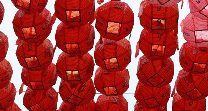 Decoraciones en Corea del Sur (imagen referencial)