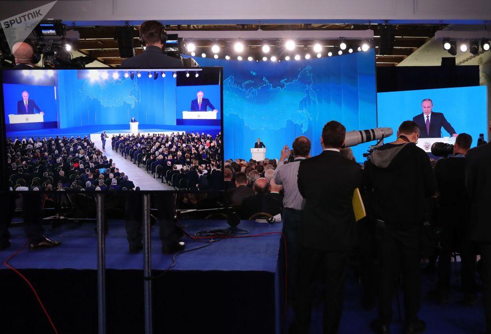 Las líneas maestras para el futuro, en el discurso de Putin
