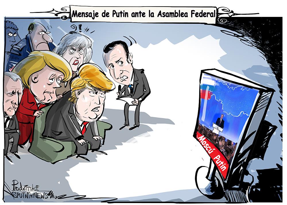 El mensaje anual de Putin ante la Asamblea Federal