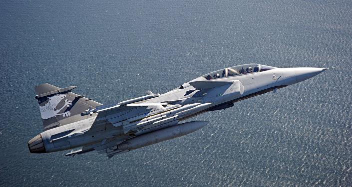 El caza sueco Gripen E