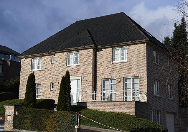 La casa de Carles Puigdemont en Bélgica