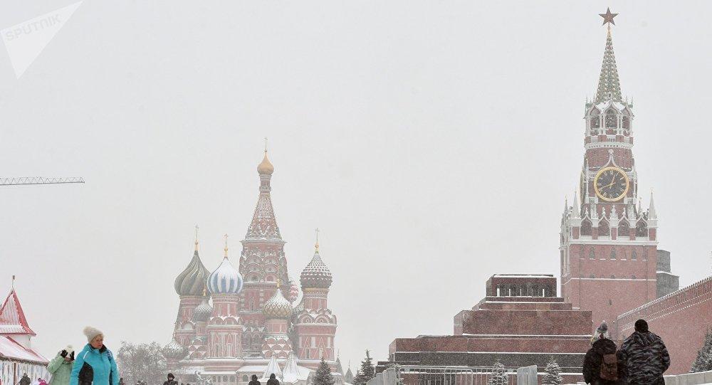 El Kremlin de Moscú, Rusia (archivo)