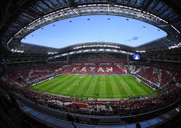 El estadio Kazán Arena en Rusia (archivo)