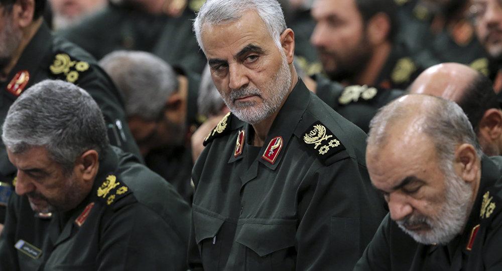 Qasem Soleimani, comandante de la Fuerza Quds (archivo)