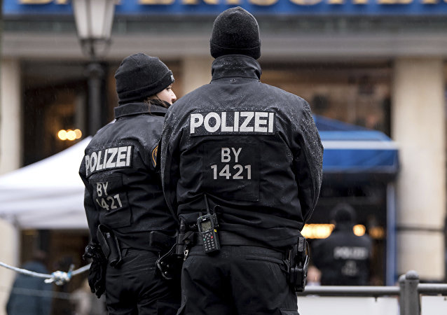 Policía de Alemania (archivo)