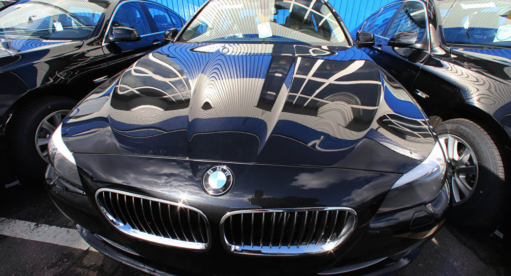Automóviles alemanes BMW