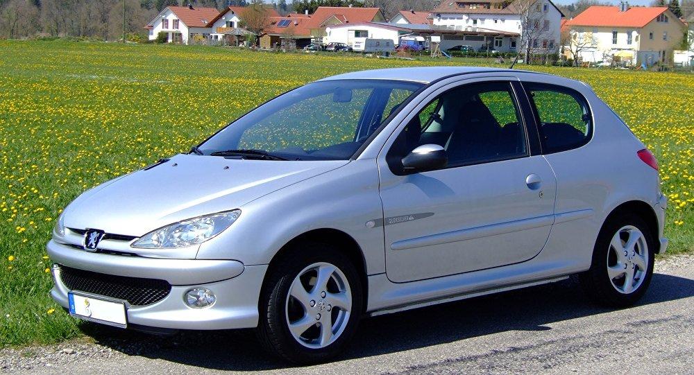 Un Peugeot 206