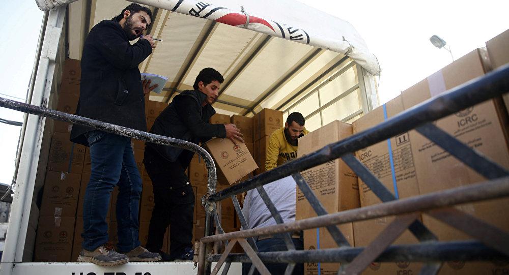 Ayuda humanitaria a Guta Oriental