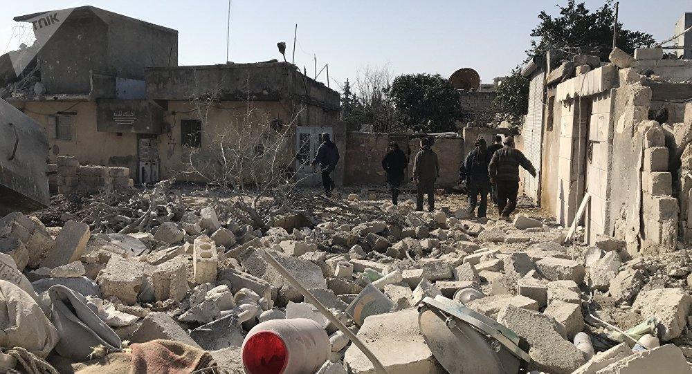 Situación en el cantón de Afrín, Siria