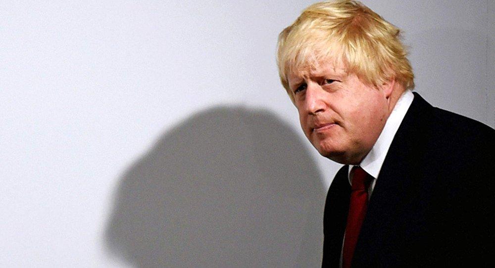 Boris Johnson, el ministro de Asuntos Exteriores del Reino Unido