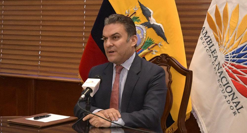 José Serrano, presidente del Parlamento de Ecuador