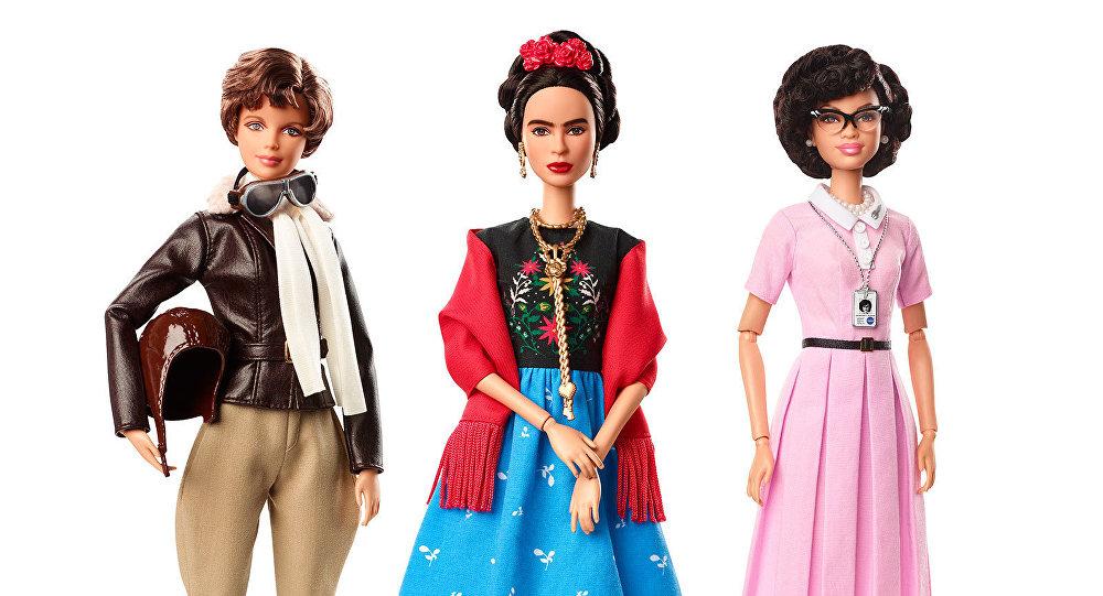 Las nuevas muñecas Barbie rinden homenaje a Frida Kahlo y otras mujeres destacadas