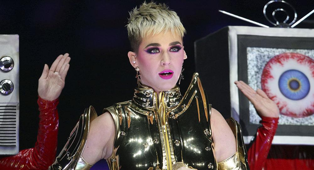 Katy Perry, la popular cantante estadounidense