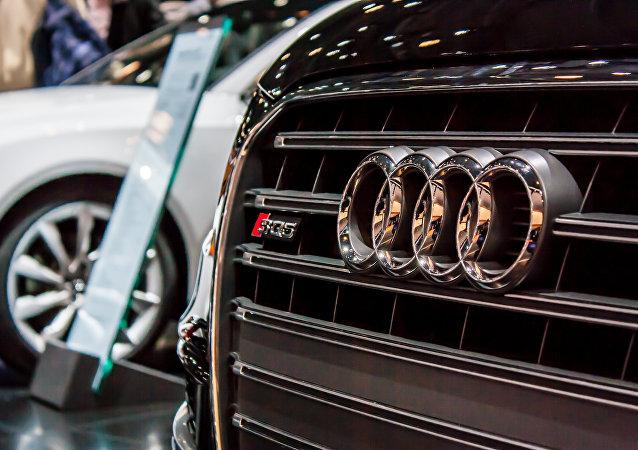 Logo de Audi (imagen referencial)