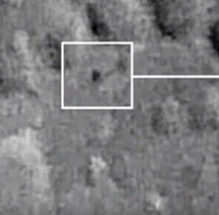 Un misterioso triángulo vuela sobre la superficie de la Luna y agita a los internautas