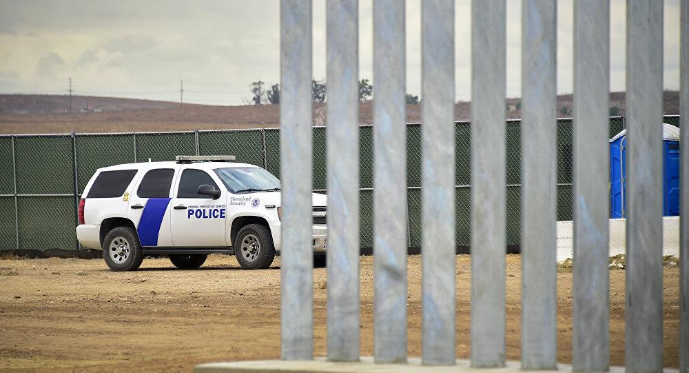 Policía de EEUU en California (imagen referencial)