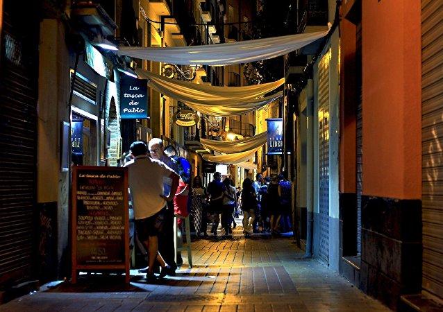 Una calle en España (imagen referencial)