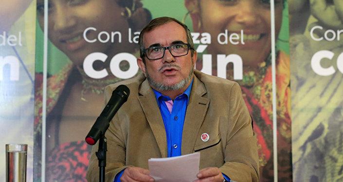 Rodrigo Londoño, alias Timochenko, máximo líder de la FARC