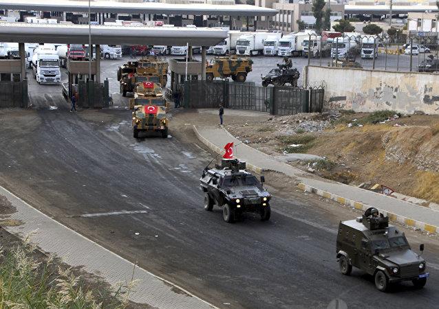 Fuerzas armadas de Turquía en la frontera con Irak