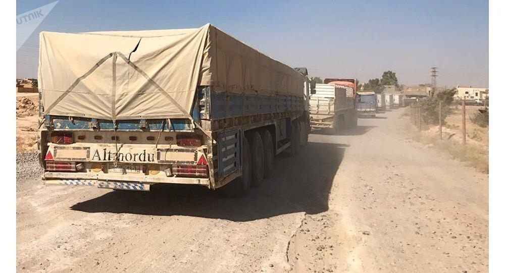 Convoy humanitario en Siria (archivo)