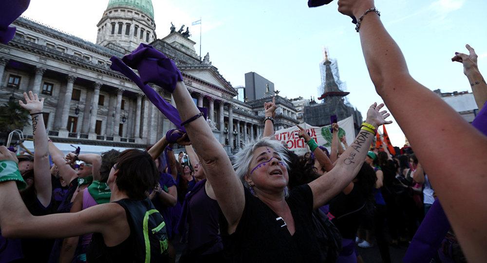 La movilización de mujeres en Argentina