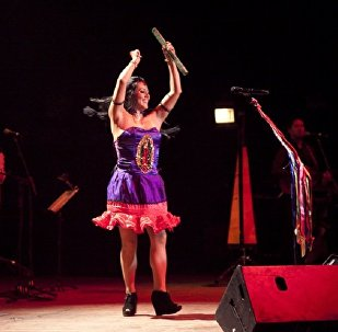 La cantautora mexicana Lila Downs