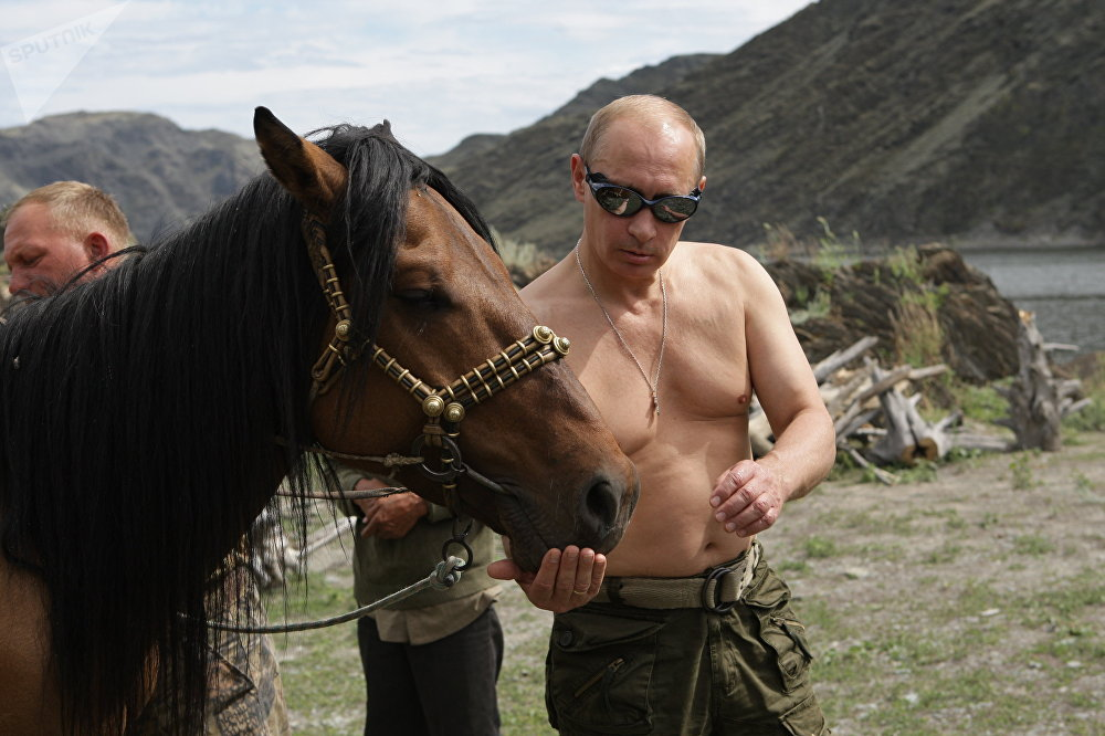 El presidente de Rusia, Vladímir Putin, en 2009