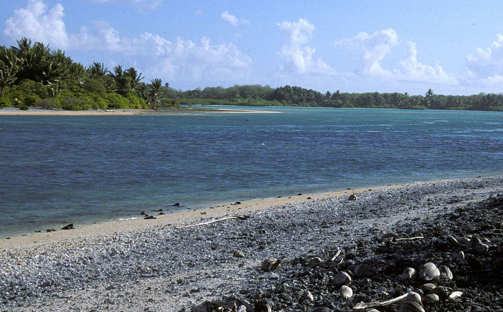 La laguna de Nikumaroro