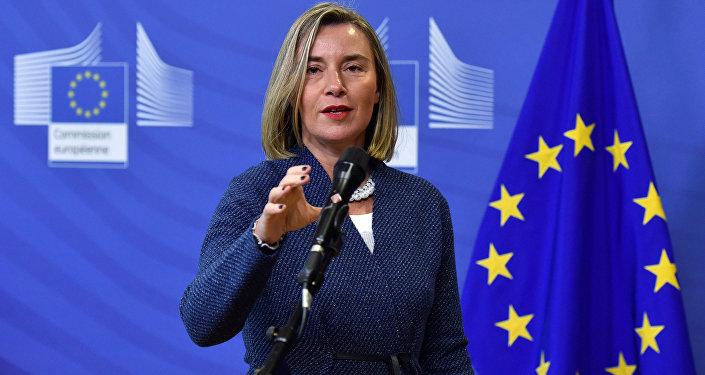 La alta representante de la Unión Europea para Asuntos Exteriores y Política de Seguridad