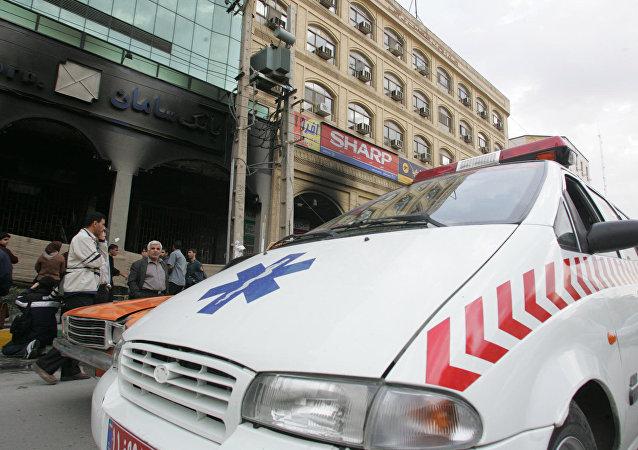 Ambulancia iraní (imagen referencial)